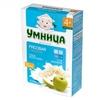 Умница каша молочная рисовая с яблоком с 4 мес. 200 г