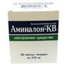 Аминалон-КВ капс 250мг №50