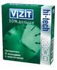 """Презервативы """"Vizit""""hi-tech №3 с кольцами и анестетиком"""