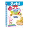 Bebi Premium каша молочная 3 злака с печеньем 200гр