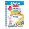 Bebi Premium каша молочная 7 злаков с черникой 200гр