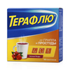 ТераФлю  порошок д/приг р-ра для приема внутрь пакеты 11,5 г №10(вкус лесная ягода)