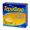 ТераФлю от гриппа и простуды порошок д/приг. р-ра д/приема внутрь пакеты №10 (вкус лимона)