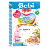 Bebi Premium каша гречневая  молочная 200гр