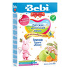 Bebi Premium каша гречневая молочная с курагой и яблоком 200гр