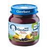 Gerber пюре из яблок и черники130гр. с 5-мес.