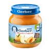 Gerber пюре яблоко-персик 130гр. с 5-мес.