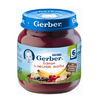Gerber пюре яблоко-лесные ягоды 130гр. с 5-мес.
