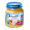 Gerber пюре персик со сливками 125гр. с 6-мес.