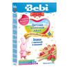 Bebi Premium каша молочная злаки с малиной и вишней 200гр