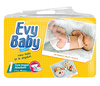 Подгузники Evy Baby (Эви Бэби) ньюборн (2-5кг) 44шт