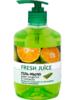 Fresh Juice жидкое крем-мыло 460 мл зеленый мандарин