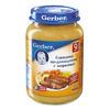 Gerber (Гербер) пюре говядина по-домашнему с морковью 200гр.с 9-мес.