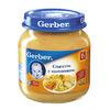 Gerber пюре спагетти с цыпленком 125гр.с 6-мес.
