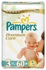Подг. Pampers Premium Care миди (4 - 9кг) №60