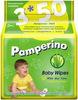 Салфетки влажные детск Pamperino TRIO №50*3 с Алоэ Вера, гипоаллергенные
